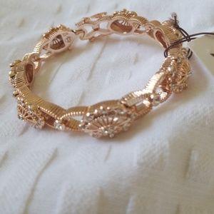 "Tilio by Doris Panos rose gold bracelet 7"""